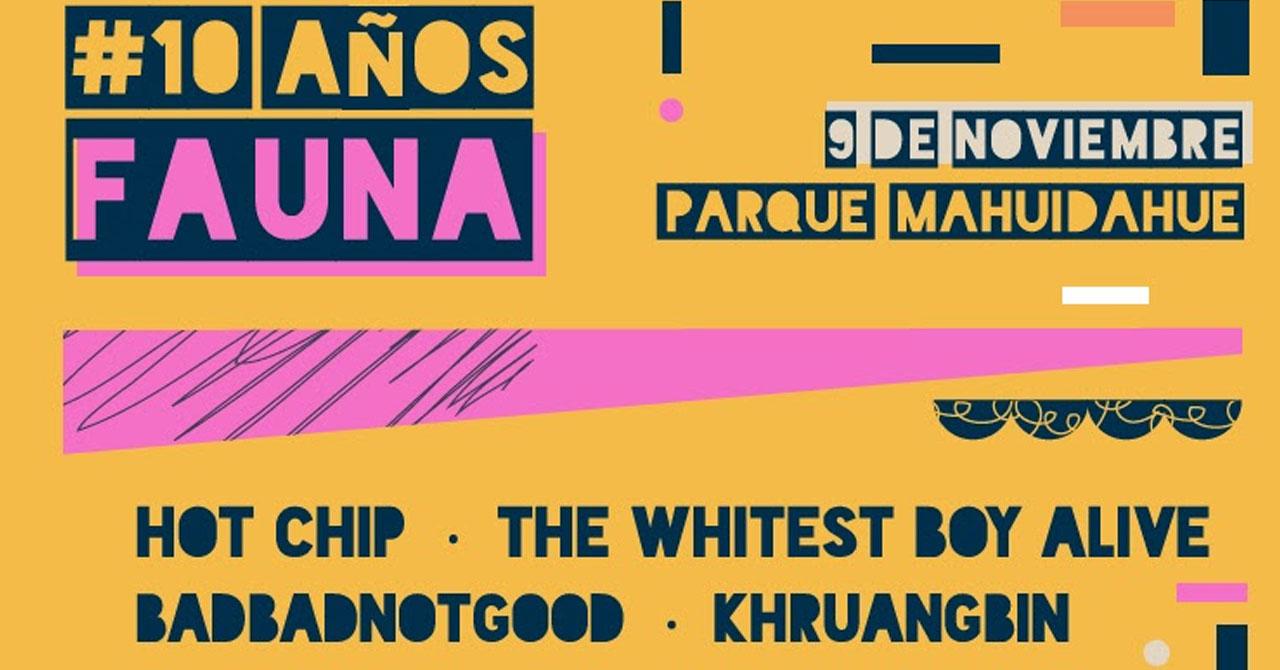 Artistas del cancelado Fauna Primavera reagendan shows en Chile en nuevo festival