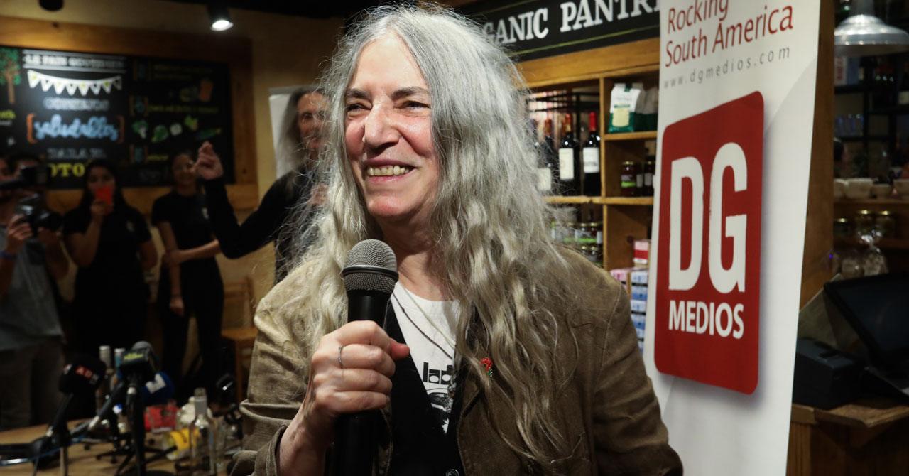 Patti Smith dio una cátedra de lucha y unión - Mundo Peliculas