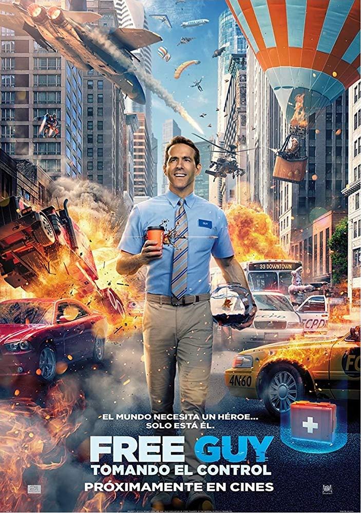 Free Guy Tomando El Control Lo Nuevo De Ryan Reynolds Mundo Peliculas